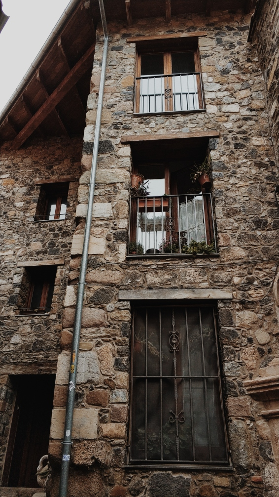Casas típicas de la zona.