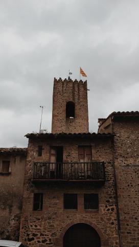 Edificios típicos de la zona.