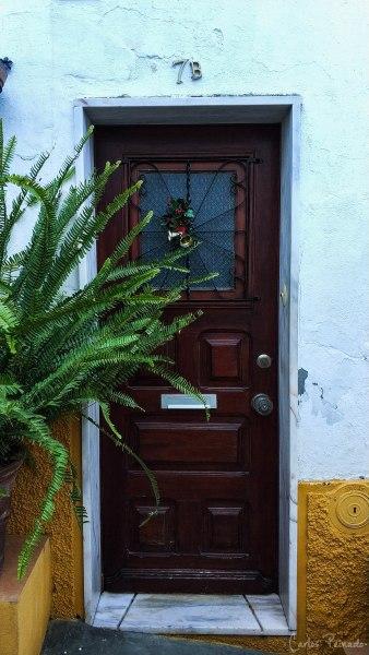 Puerta típica de Elvas.